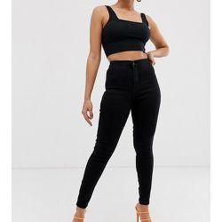 Vice - Jean skinny taille haute super stretch - Missguided Petite - Modalova