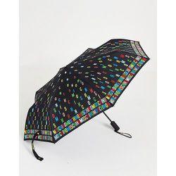 Parapluie avec inscription logo - Moschino - Modalova