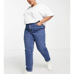 New Look Curve - Jean mom soulignant la taille - moyen - New Look Plus - Modalova