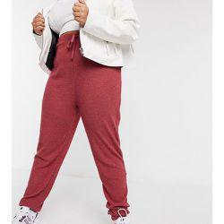 New Look Curve - Jogger confort côtelé - Baie - New Look Plus - Modalova