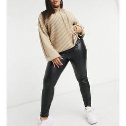New Look Curve - Legging en similicuir - New Look Plus - Modalova