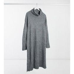 New Look Curve - Robe à col roulé - foncé - New Look Plus - Modalova
