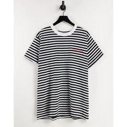 T-shirt à rayures - /blanc - Night Addict - Modalova