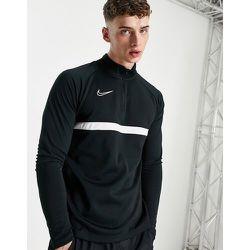 Academy drill - Top à col zippé - et blanc - Nike Football - Modalova