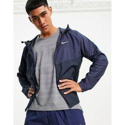 Nike - Running Miler - Veste color block à fermeture éclair - foncé - Nike Running - Modalova