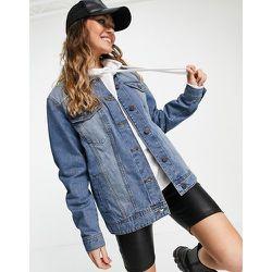 Veste en jean oversize - moyen délavé - Noisy May - Modalova