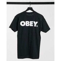 T-shirt avec imprimé logo large dans le dos - Obey - Modalova