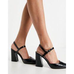 Hailing - Chaussures pointues à talon carré - Office - Modalova