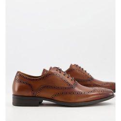 Macro - Chaussures richelieu en cuir - Fauve - Office - Modalova
