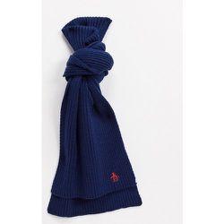 Écharpe côtelée - Bleu marine/rouge - Original Penguin - Modalova