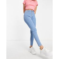 Jean super skinny taille haute - clair - Pull&Bear - Modalova