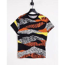 Classic AOP - T-shirt à logo avec imprimé animal multiple - Puma - Modalova