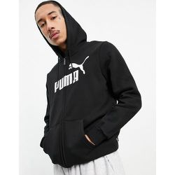 Essentials - Hoodie zippé avec grand logo - Puma - Modalova