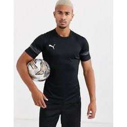 Football - T-shirt manches courtes avec empiècements gris - Puma - Modalova