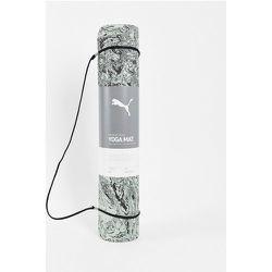 Studio - Tapis de yoga imprimé de qualité premium - Vert - Puma - Modalova
