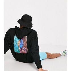 Hoodie oversize en coton biologique à imprimé Van Gogh - Reclaimed Vintage - Modalova