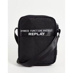 Pochette bandoulière avec logo - Replay - Modalova