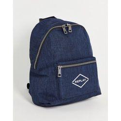 Replay - Sac à dos avec logo-Bleu - Replay - Modalova