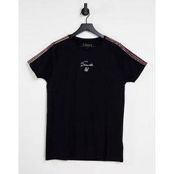 T-shirt à manches raglan - SikSilk - Modalova