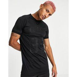 SikSilk - T-shirt de sport - Noir - SikSilk - Modalova