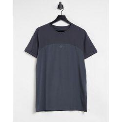 T-shirt moulant effet coupé-cousu - SikSilk - Modalova