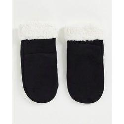 Moufles imitation daim et imitation peau de mouton - SVNX - Modalova