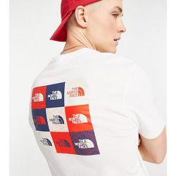 T-shirt avec plusieurs logos encadrés - The North Face - Modalova