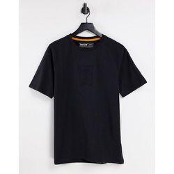 T-shirt épais à logo effet superposé - Timberland - Modalova