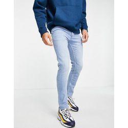 Big & Tall - Jean skinny stretch en coton biologique mélangé - Délavage clair - Topman - Modalova