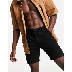 Pantalon chino ajusté en coton biologique mélangé - Topman - Modalova