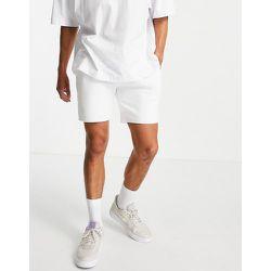 Topman - Short en jersey - Blanc - Topman - Modalova