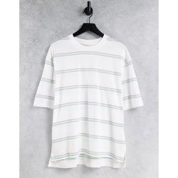T-shirt à rayures avec poche - Topman - Modalova