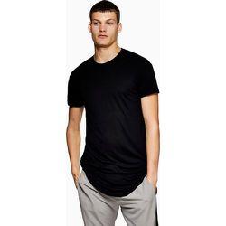 T-shirt long à ourlet arrondi - Topman - Modalova