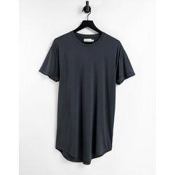 T-shirt long près du corps - Topman - Modalova