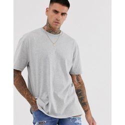 T-shirt oversize - chiné - Topman - Modalova