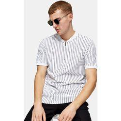 T-shirt style baseball à rayures - Topman - Modalova