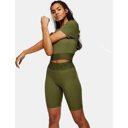 Activewear - Short legging - Kaki - Topshop - Modalova