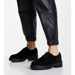 Leon - Chaussures pointure large en daim à lacets - Topshop - Modalova