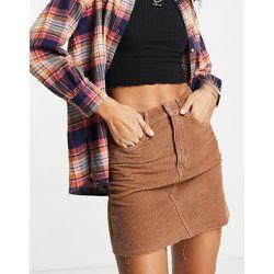 Mini-jupe en velours côtelé - Topshop - Modalova