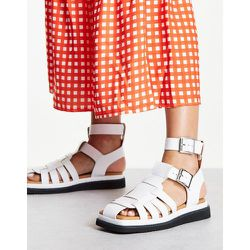 Pace - Sandales style spartiates en cuir - Topshop - Modalova