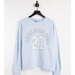 Sweat-shirt à message Athletic Department - pâle - Topshop Petite - Modalova