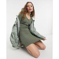 Robe gilet côtelée - Topshop - Modalova