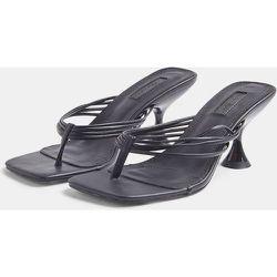 Sandales à petit talon et entredoigt - Topshop - Modalova