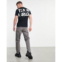 T-shirt ras de cou à imprimé au dos - True Religion - Modalova