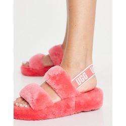 Oh Yeah - Sandales à deux brides avec logo - Sorbet fraise - Ugg - Modalova