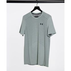 Training - T-shirt sans coutures à logo ondulé - Under Armour - Modalova
