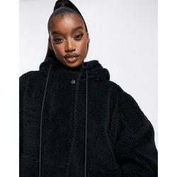 Montalvo - Veste à capuche imitation peau de mouton - Varley - Modalova