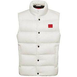 Veste sans manches déperlante en tissu recyclé avec étiquette logo - HUGO - Modalova