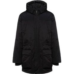 Manteau déperlant avec logo sur une manche et garnissage en duvet - HUGO - Modalova