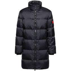 Manteau doudoune Regular Fit avec étiquette logo rouge - HUGO - Modalova